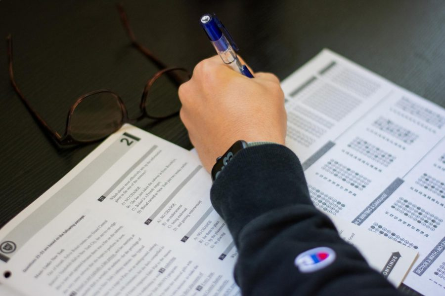 Opinion: SAT test-optional is not really optional