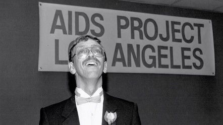 Activist Steve Peters works towards decreasing the prejudice towards people with AIDS.