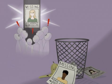 Missing white woman syndrome refers to the high media coverage of specific cases of missing white girls and women, as seen in the recent case of Gabrielle Petito. However, this selective reporting causes many missing person cases- including people of color, individuals with lower socioeconomic status, men, and boys- to go virtually unnoticed.