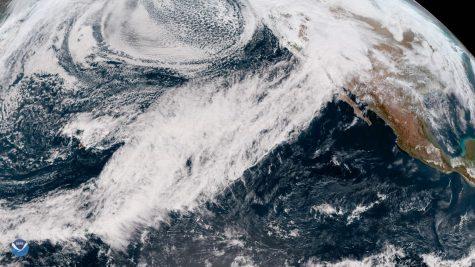 NOAA Satellites/Atmospheric River Soaks California/February 19, 2019/Public Domain
