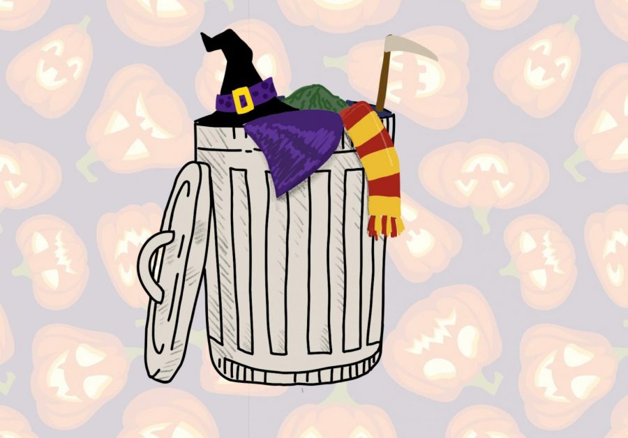 Perceived as cheap and disposable, Halloween costumes have become unsustainable. The mindset that comes with Halloween in terms of costumes is not good for the environment, Daniel Arakaki said.