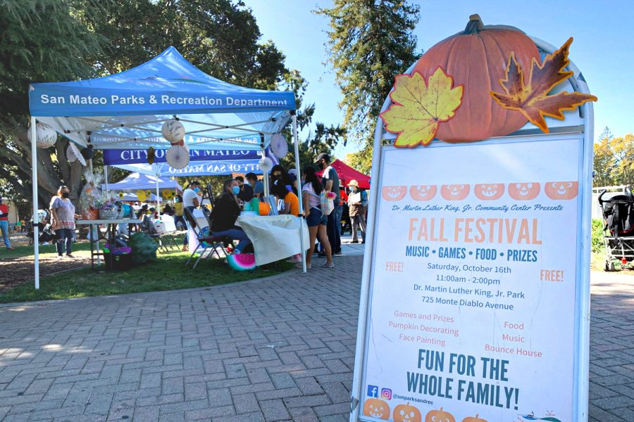 The annual fall festival attracts a large and diverse crowd and further promotes San Mateo.