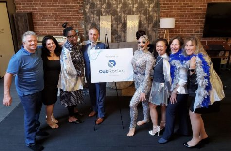Oak Rocket celebrates its recent rebranding that reflects the female minority-owned company's rapid growth in recent years.