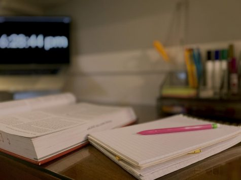 A clean and organized workspace is an essential self-care practice to keep your mind clear.