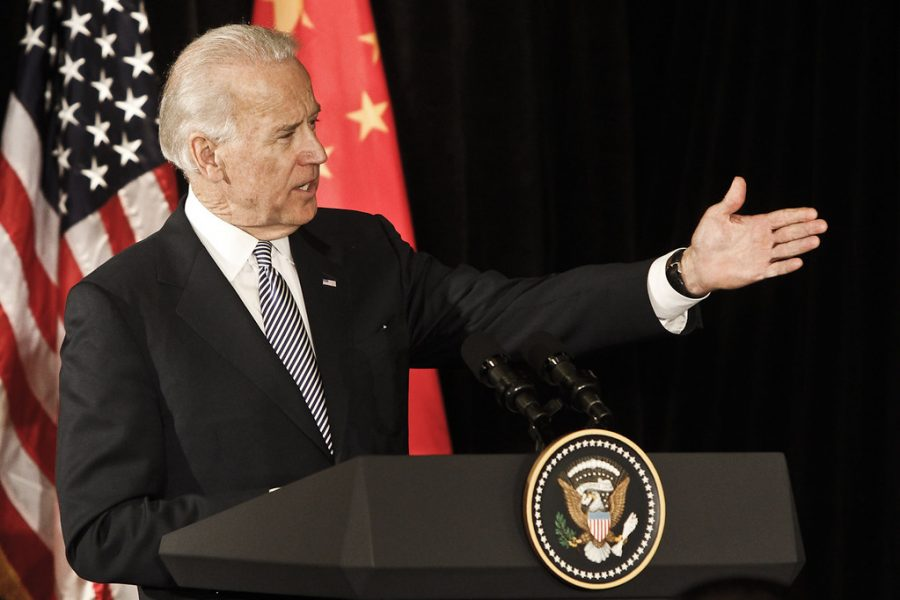 President Joe Biden at a governor's forum in LA, California with President Xi Jinping of the Peoples Republic of China.