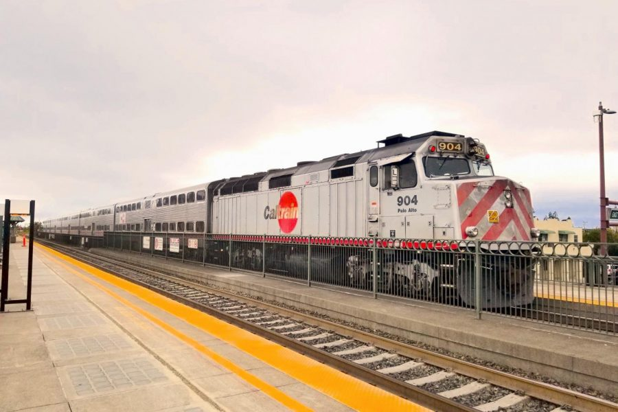 Caltrain plans to have electric trains running on renewable energy by 2024.