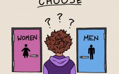 For some students, having to choose between gendered bathrooms can be difficult.