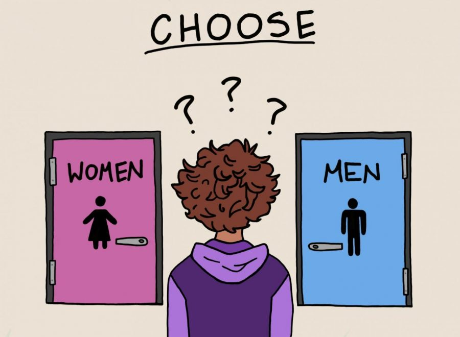 For+some+students%2C+having+to+choose+between+gendered+bathrooms+can+be+difficult.