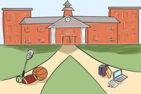 High school student-athletes face different challenges than other students when choosing a path to college.